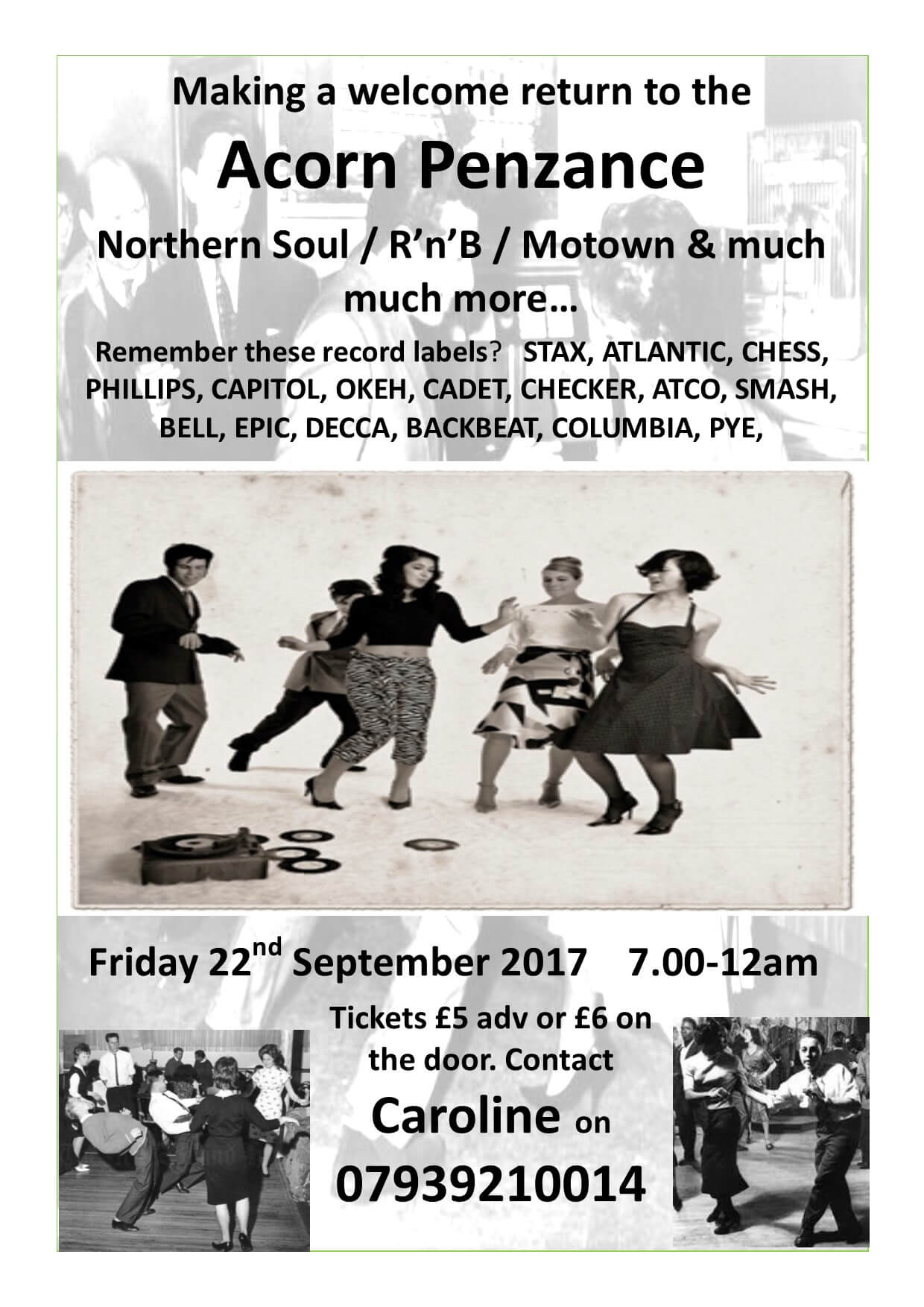 Northern Soul, R&B, Motown and more..