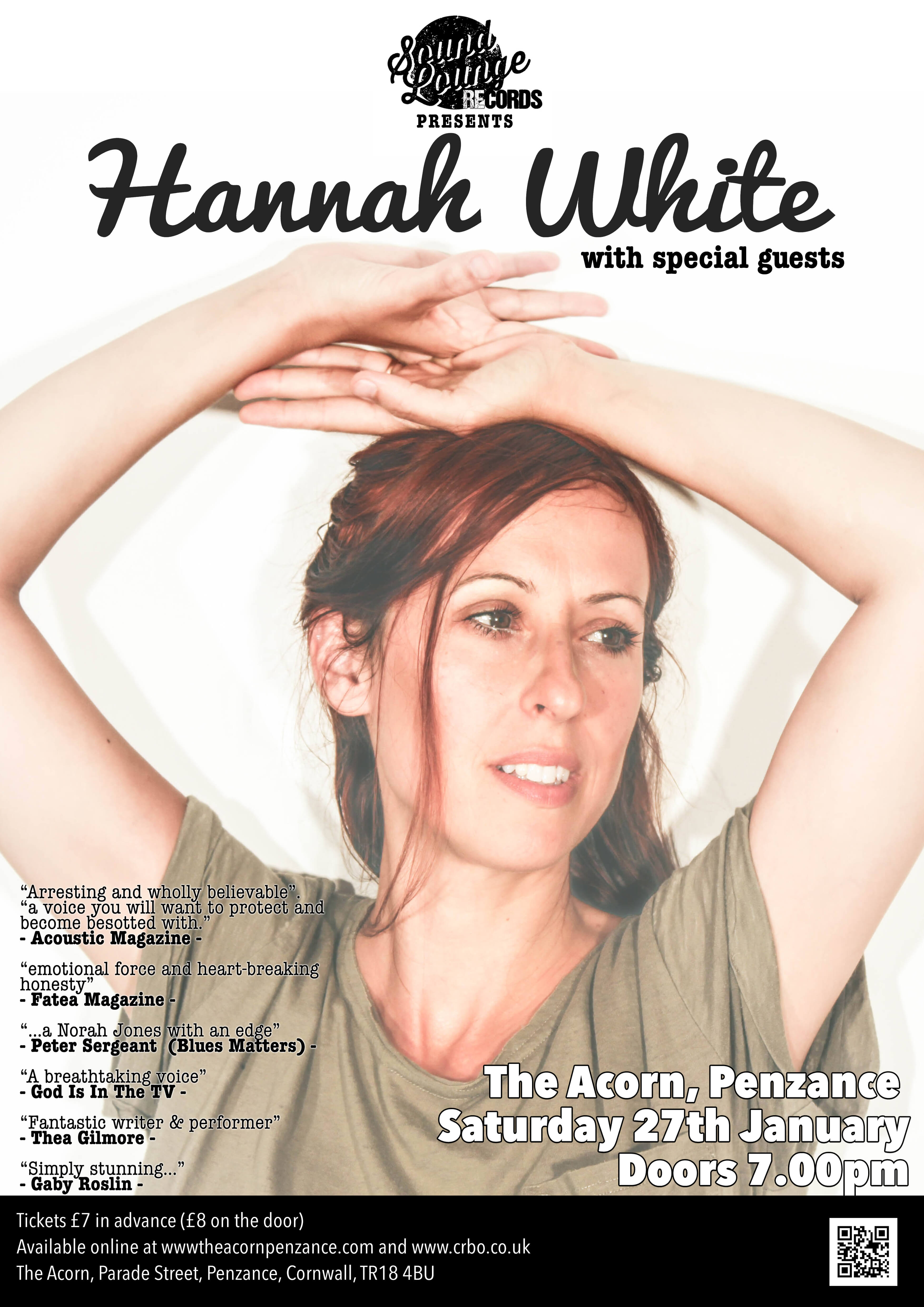 Hannah White & Special Guests