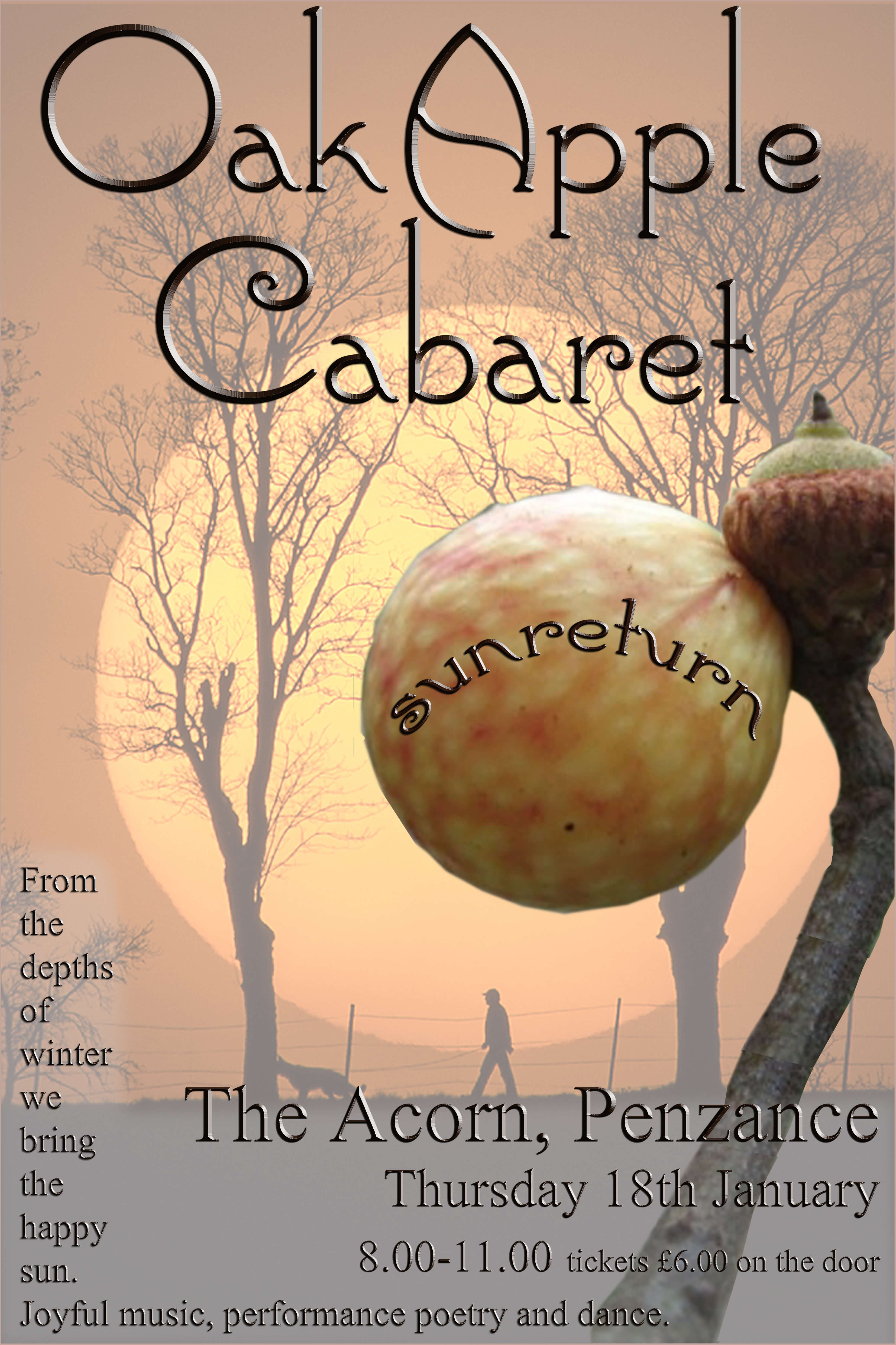 The Oak Apple Quarterly Cabaret Night