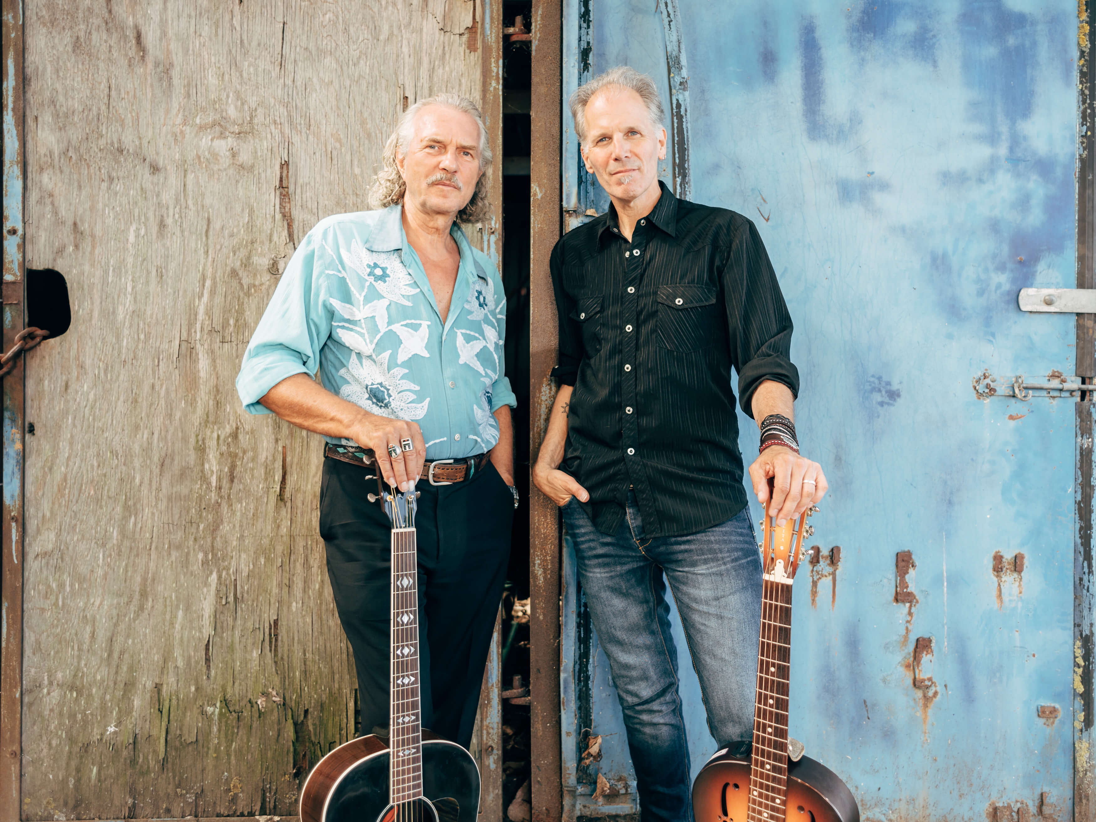Hans Theessink And Brooks Williams - Steady Rollin' Blues