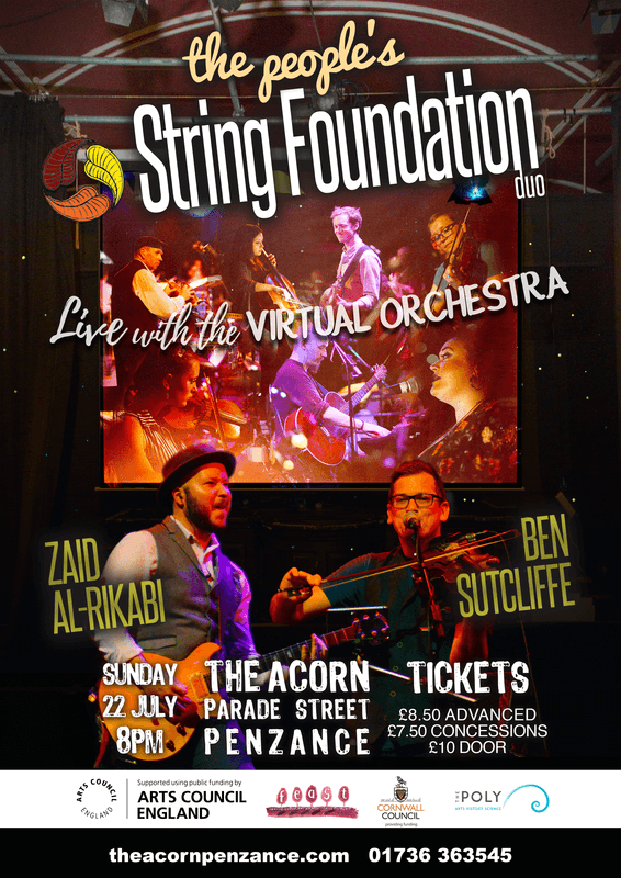 The People's String Foundation DUO - Ben Sutcliffe & Zaid Al-Rikabi