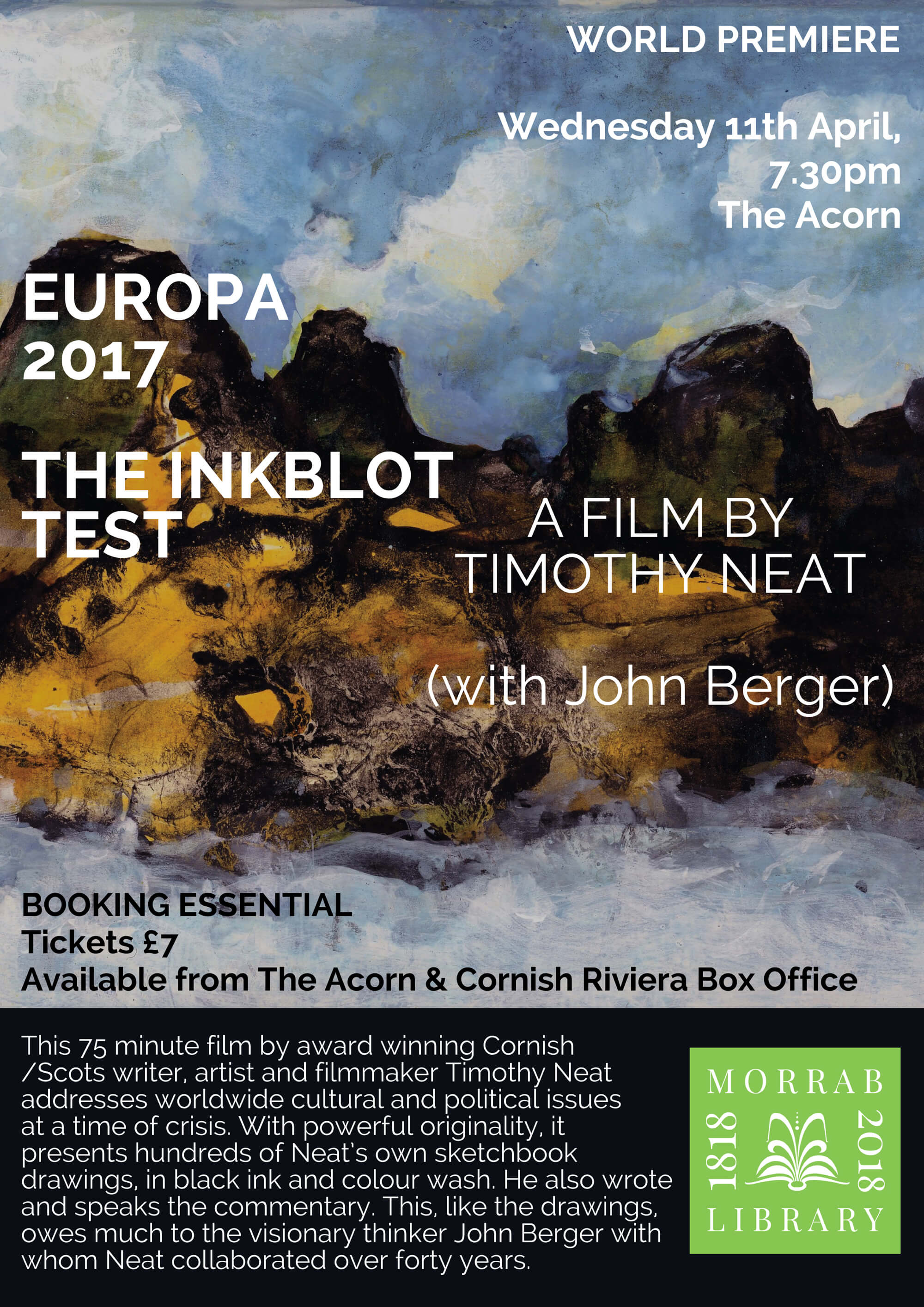 Europa 2017. The Inkblot Test - A Film by Timothy Neat