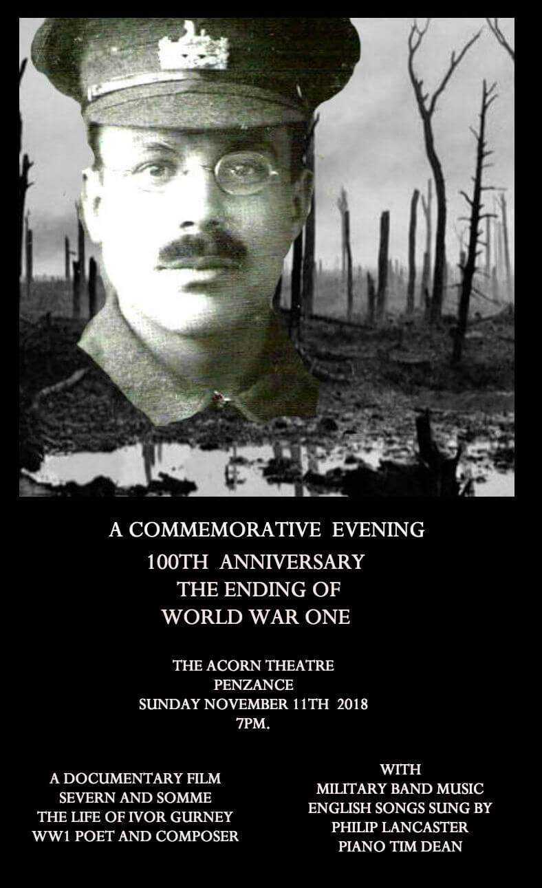 A Commemorative Evening-100th Anniversary of The Ending of World War One