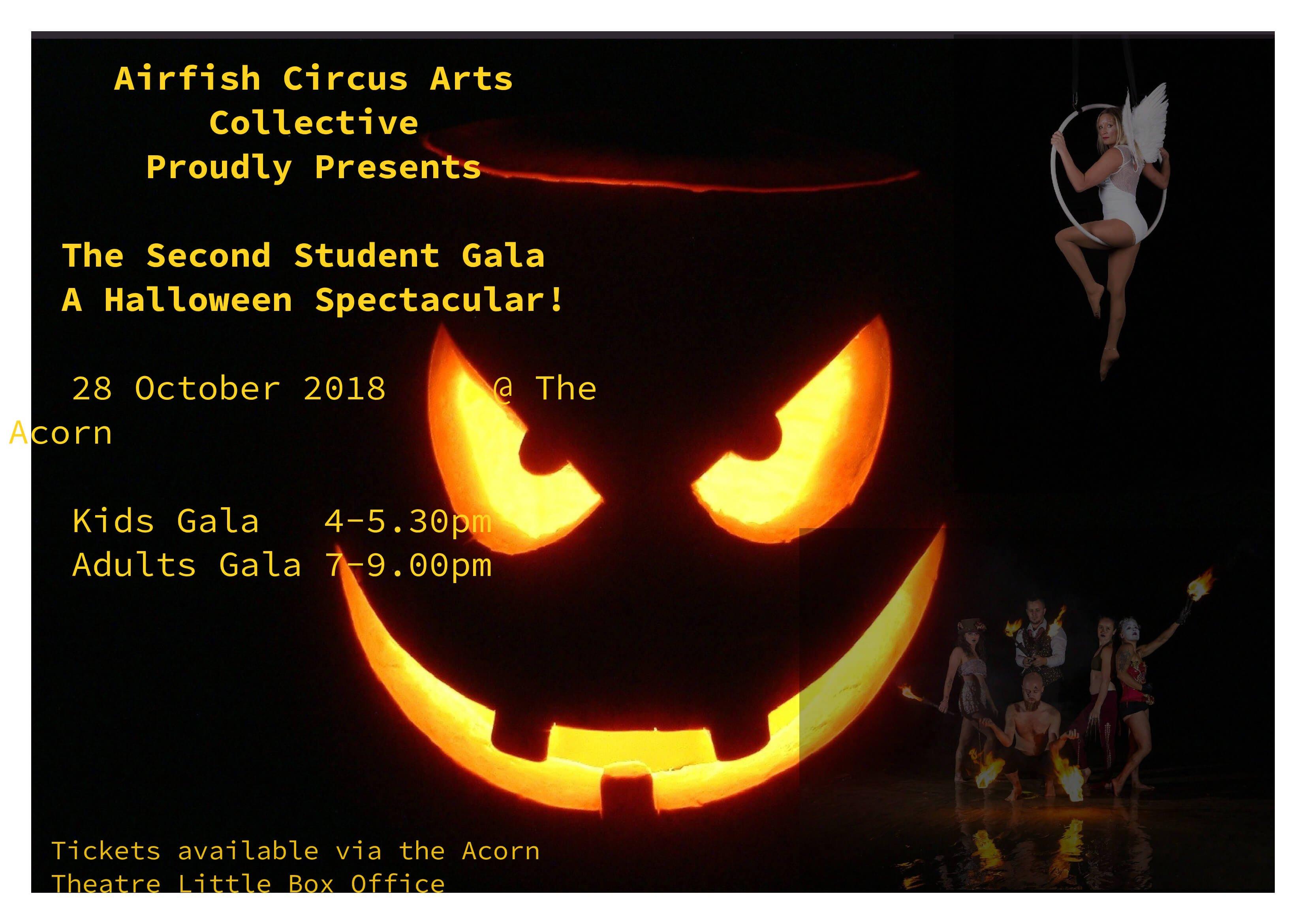 Trick & Treat - Halloween Student Gala