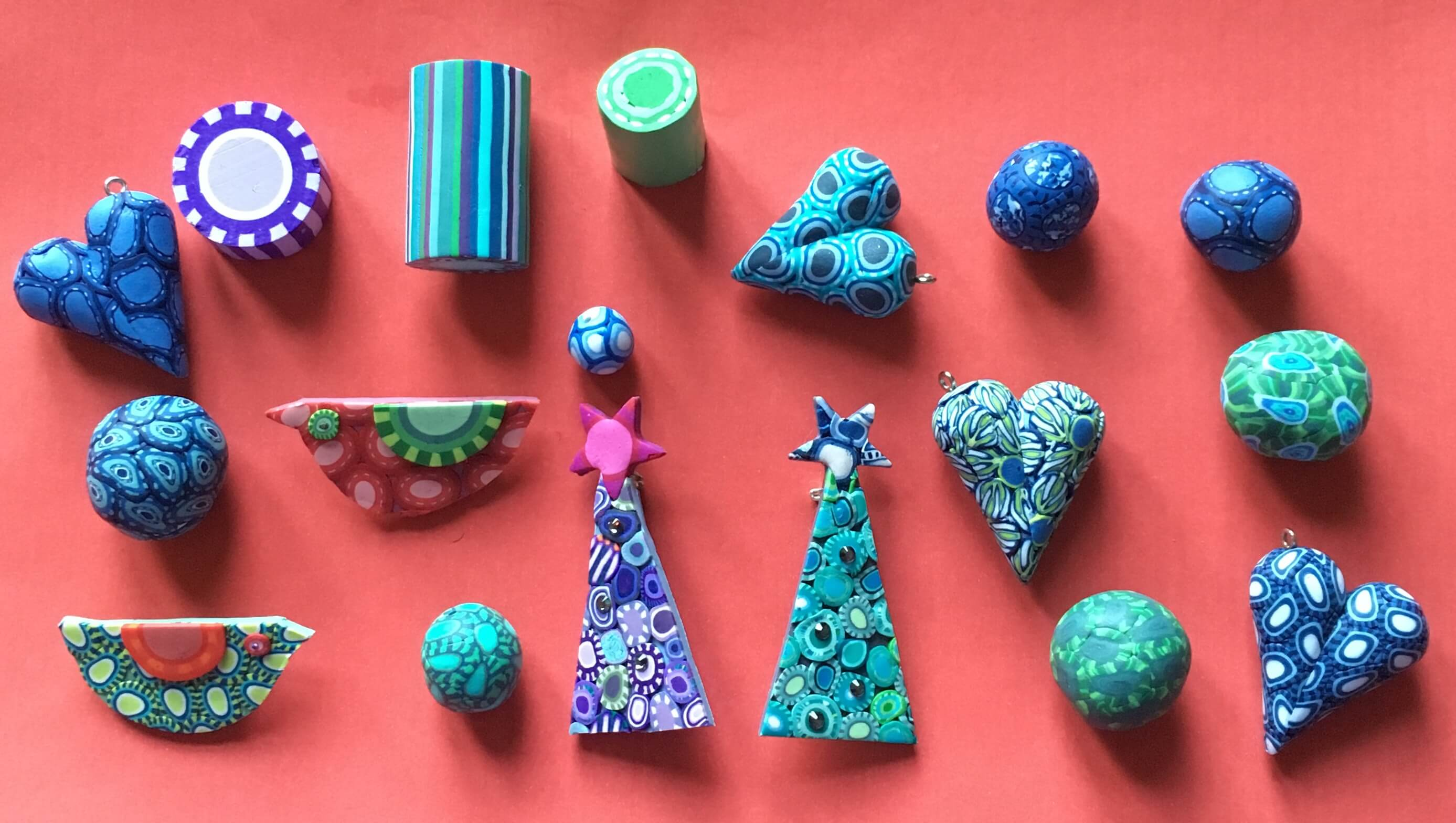 Polymer Clay workshop with Caroline Casswell