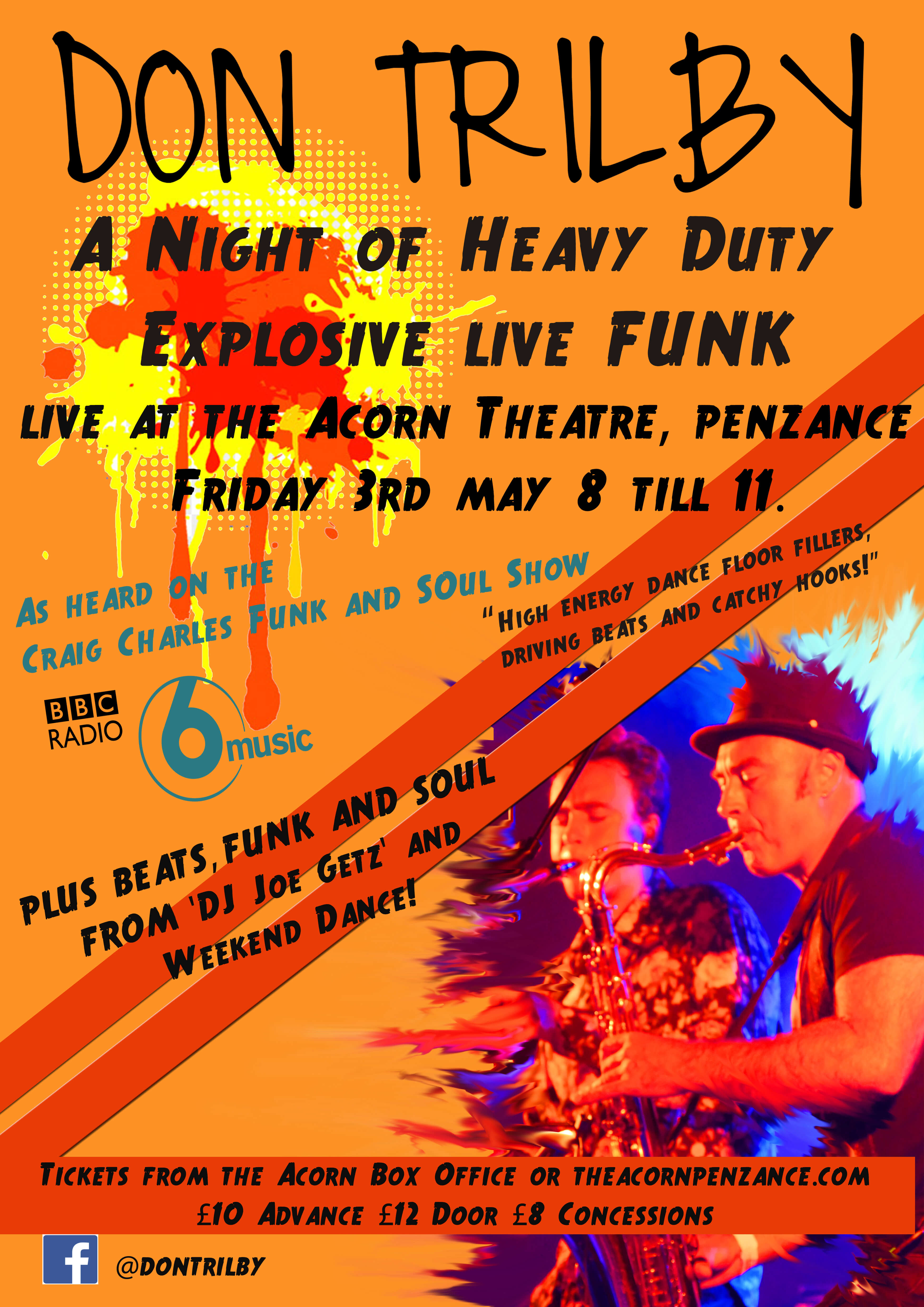 Don Trilby - A Night Of Funk