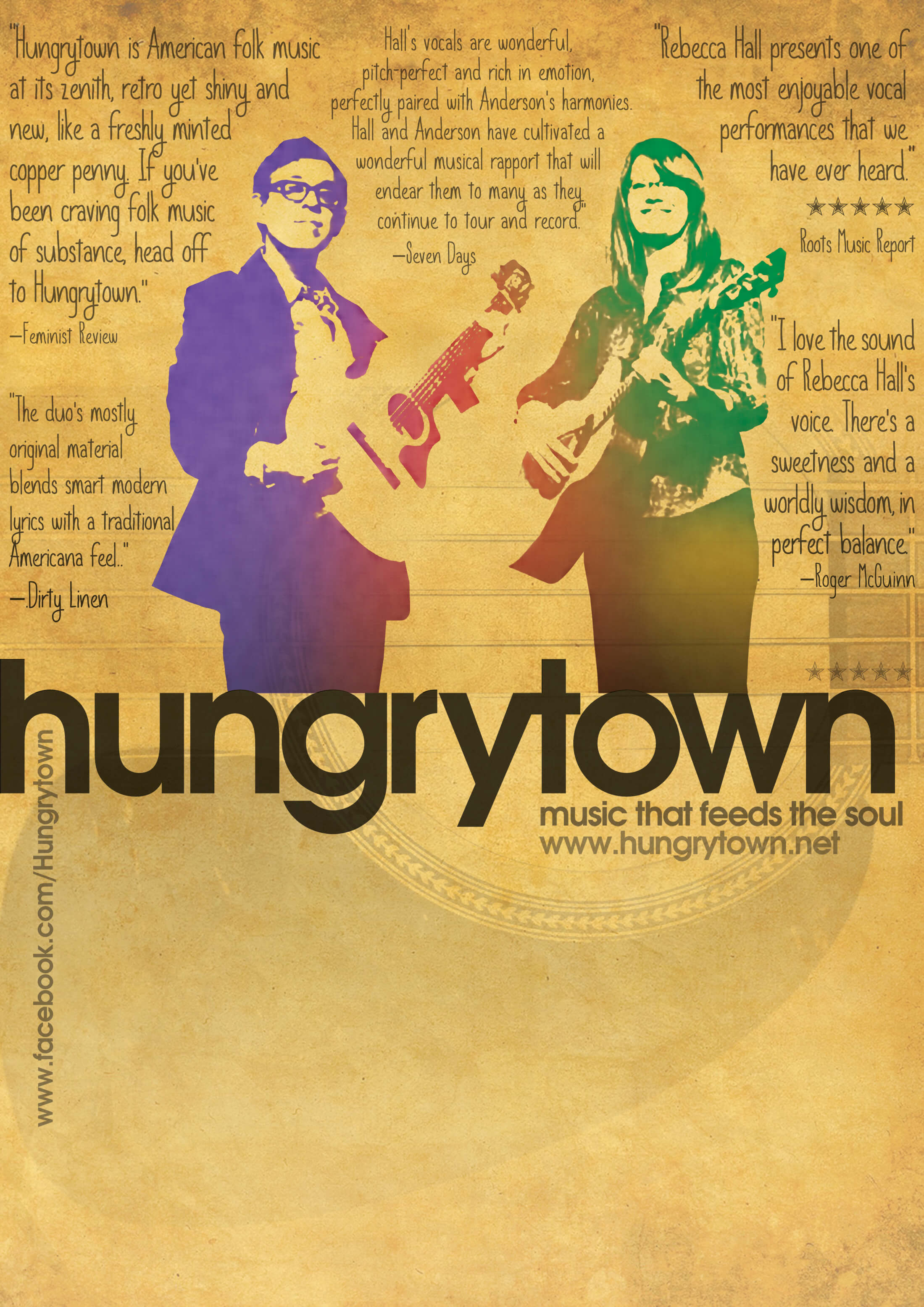 Hungrytown in Concert