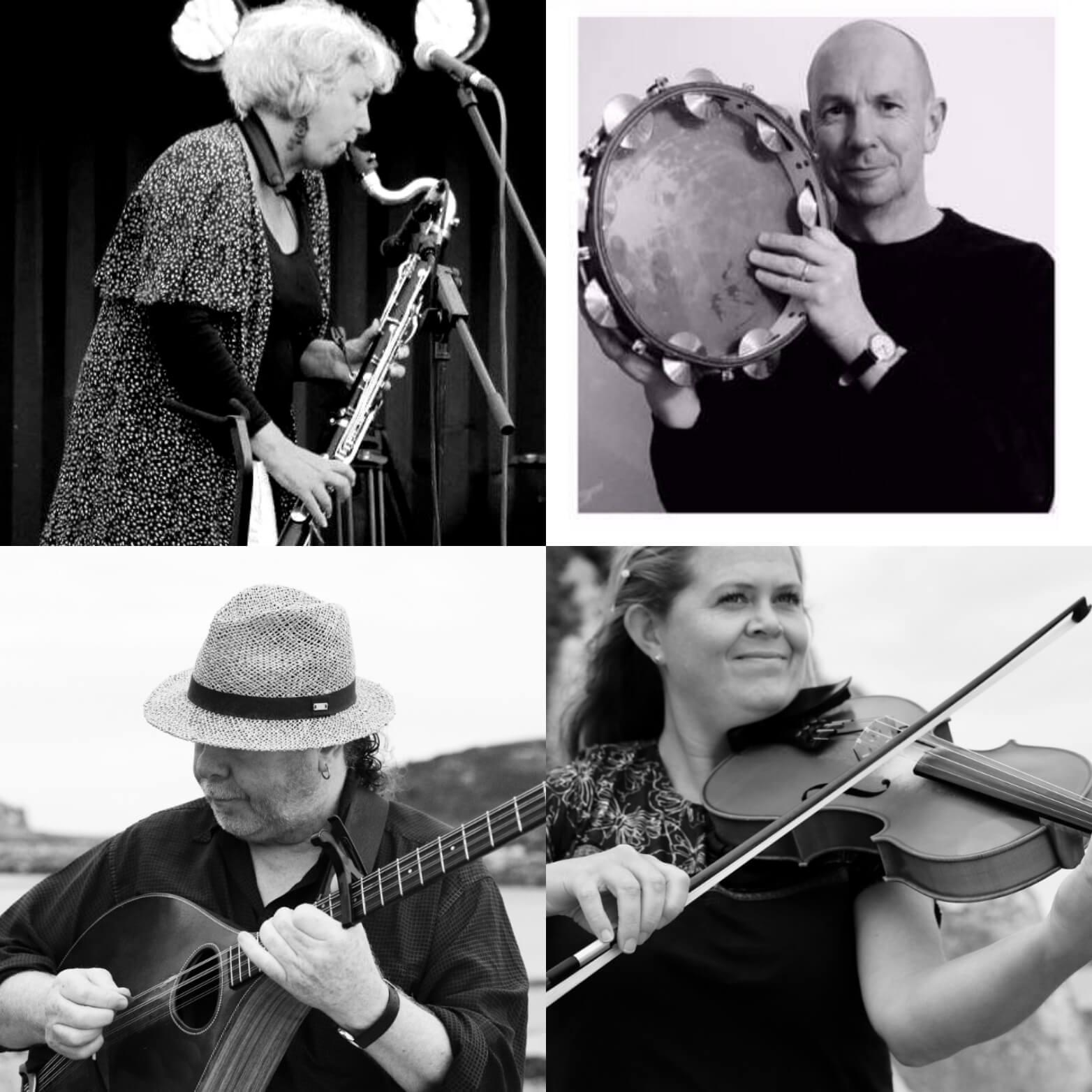 Cornish Celtic Musicians' Maserclasses - Neil Davey: Bouzouki, Mandolin, Mandola, Guitar, Ukulele