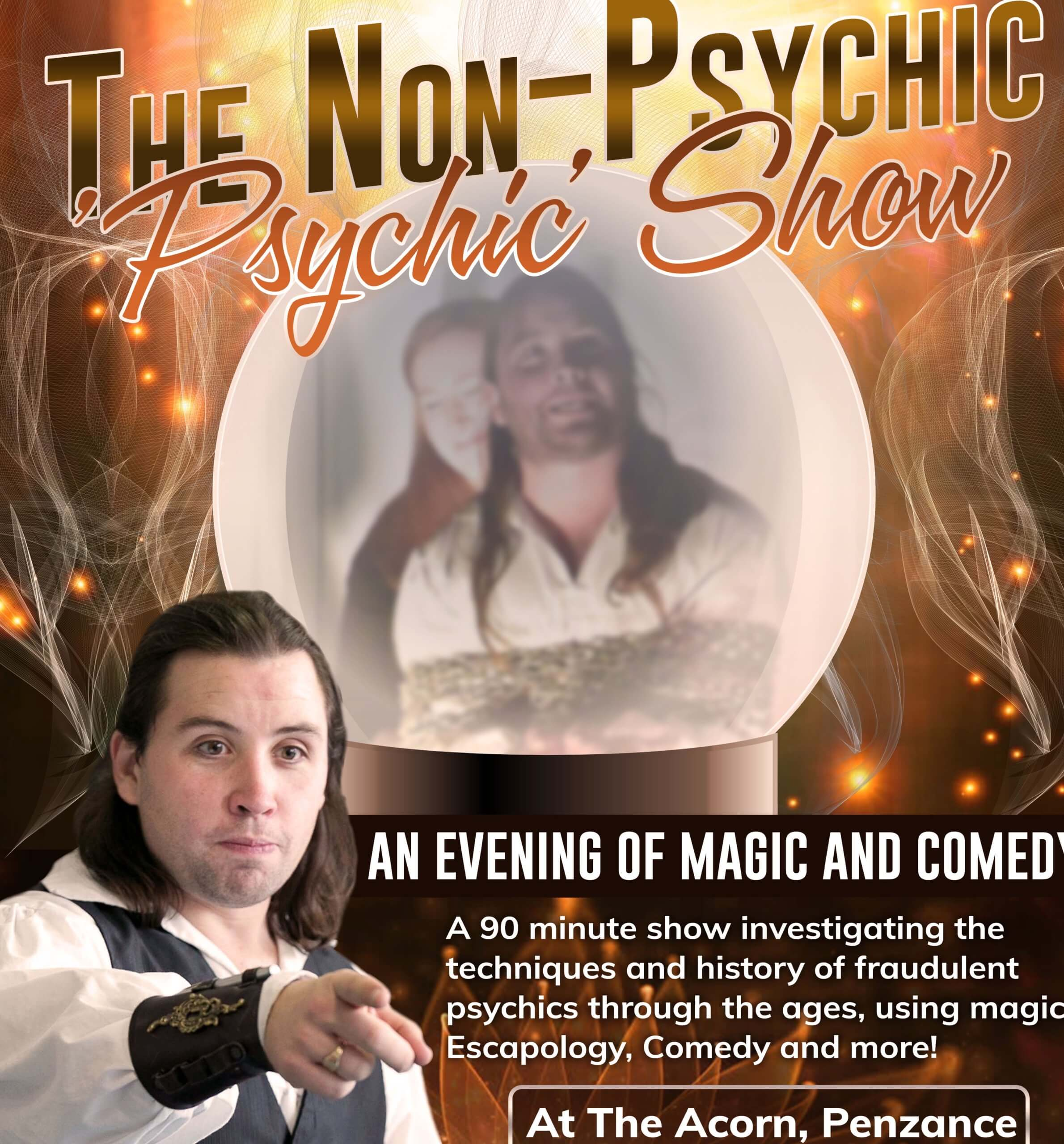 """The Non-Psychic """"Psychic"""" Show with Greg Chapman"""