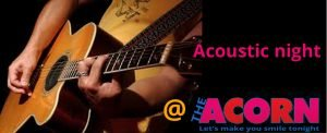 acoustic night Logo